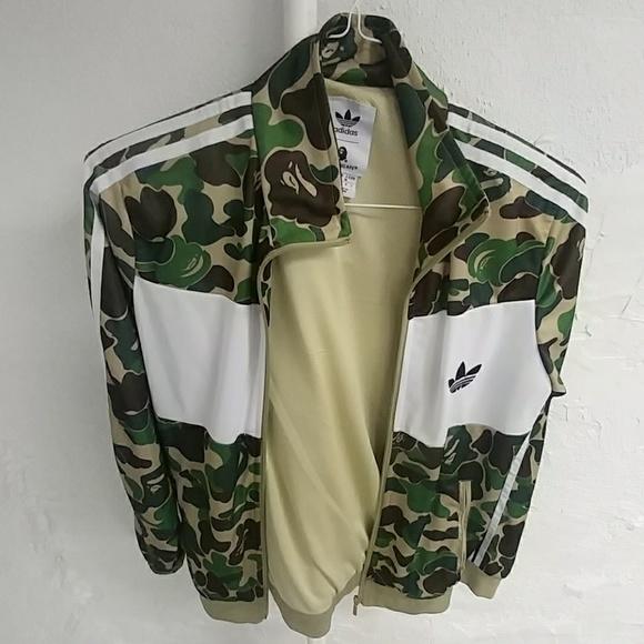 bape x adidas firebird jacket